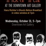 Trick or Treat at the Downtown Art Gallery