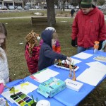 Children's Ice Painting a huge success for Bucknell Art Galleries @ Ice Festival