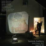 TONIGHT: 2013 Annual Student Exhibition Artist Talk @ The Gallery Theatre 6-7PM