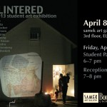 Coming in April to the Bucknell Art Galleries…