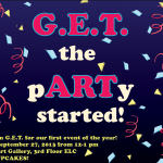 "G.E.T. presents: ""To Throw a Party"" by Amalia Pica on Friday @ Noon"