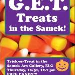 """G.E.T. Treats in the Samek"""