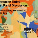 Abstraction Today Artist Panel Discussion 2/25