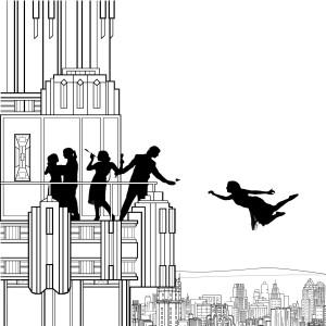 Falling Girl, Scott Snibbe, 2008.