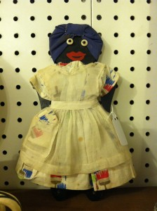 """""""Mammy"""" doll for sale at Street of shops in Lewisburg, PA."""