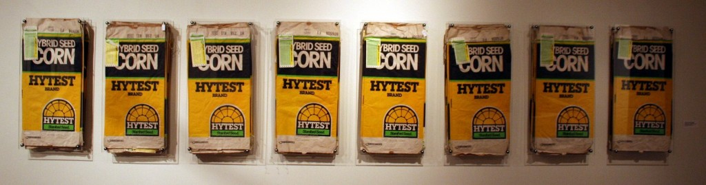 Kate Ericson and Mel Ziegler, Feed and Seed (Geisinger Farm, Corn), 1990.