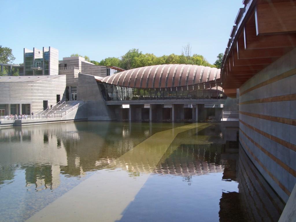 Crystal Bridges Museum of American Art.