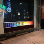 Lighting up the Downtown Gallery for #LoveWins