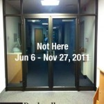 Current Exhibition/Not Here