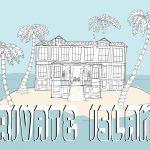 Annual Senior Art Student Exhibition: Private Island<br>April 9, 2019-April 28, 2019