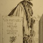 Commedia Dell'Arte: Theatrical Etchings